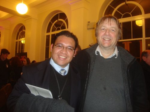With my mentor Prof. John Hardy, FRS